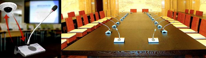 Mic conference wireless, alat komunikasi di ruangan rapat menggunakan mic wireless infrared