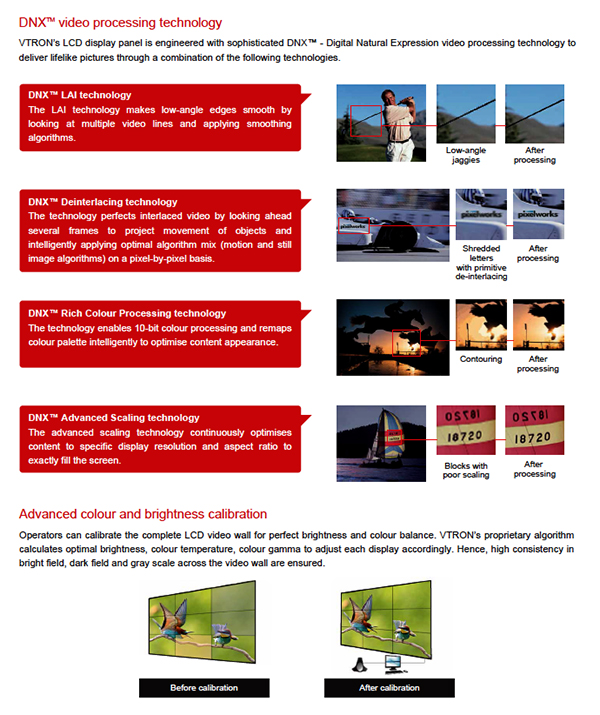 Jual vtron video wall indonesia