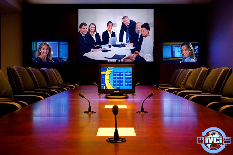 Sistem control audio visual di ruangan rapat