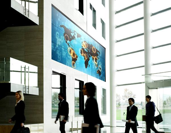 Perancangan, penjualan 1 paket Samsung multi monitor video display di Indonesia