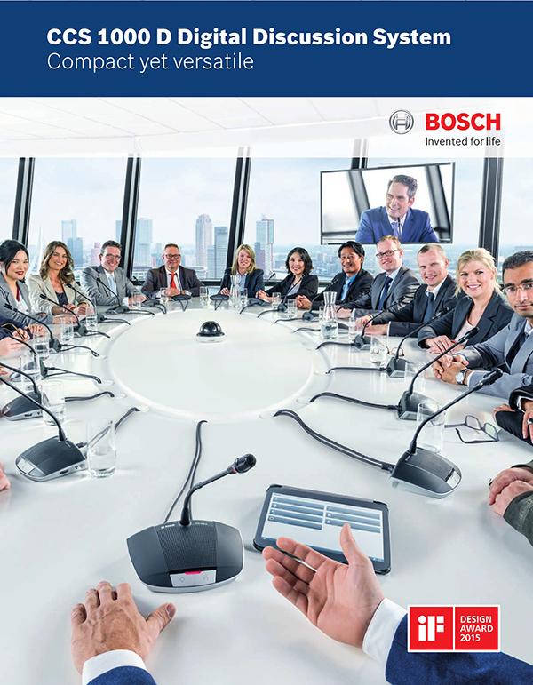CCS1000D di ruangan rapat