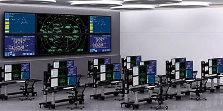 Control room lalu lintas udara