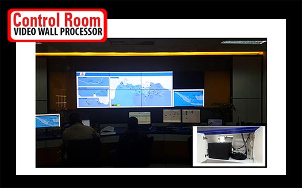 Control room perencanaan peralatan