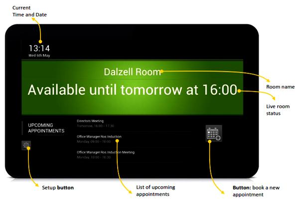 Room Booking Sytem Indonesia. Tampilan ruangan tersedia