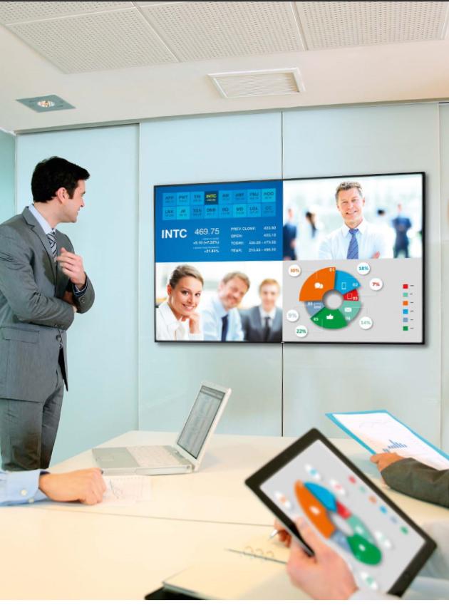 Monitor Philips ruangan rapat