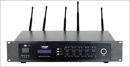 Mikrofon-rapat-wireless-Sternelec-main-receiver-unit