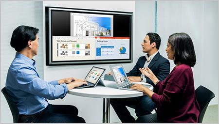 Jual alat presentasi Wireless Polycom Pano. Kolaborasi content secara Wireless