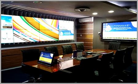 Pengaturan-Audiovisual-ruangan-rapat-remote-monitor-control-system. Contoh pemakaian