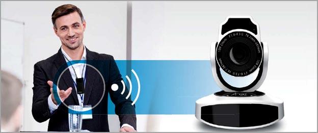 Sistem-pengajaran-Audio-Visual-perekaman-dan-Streaming-pembelajaran-mahasiswa-Online. Autotracking camera