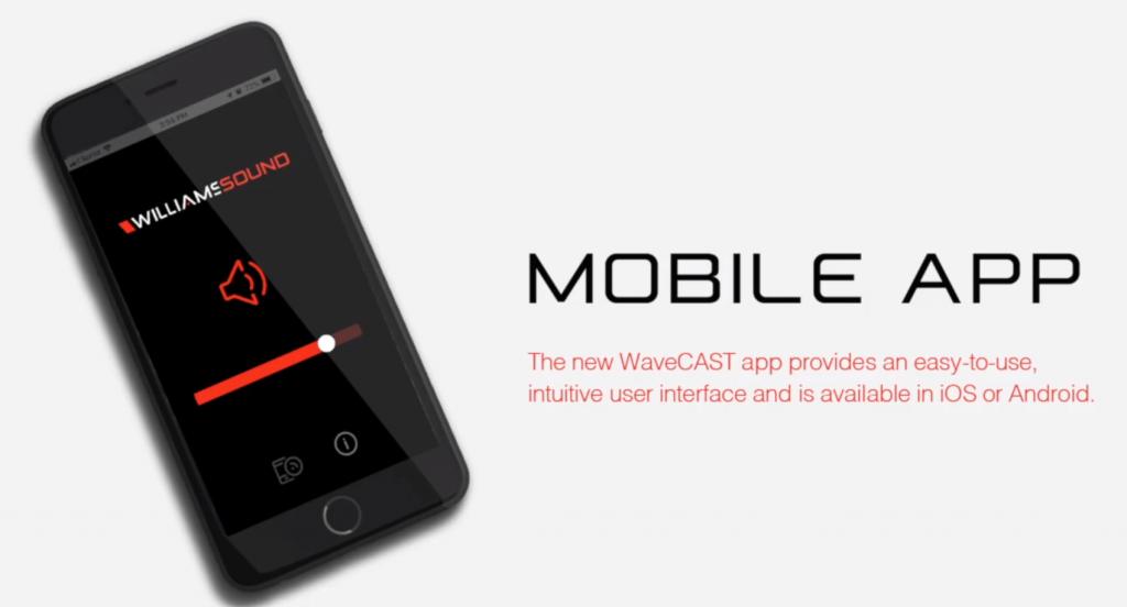 Mendengar suara melalui Wi-Fi aplikasi