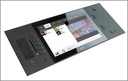 "UniCos Flushmount Multimedia Delegate Unit 10"""