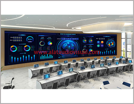 jual led videowall videotron ruang control, jual led ruang control