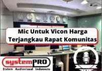 Mic Untuk Vicon Harga Terjangkau Rapat Komunitas