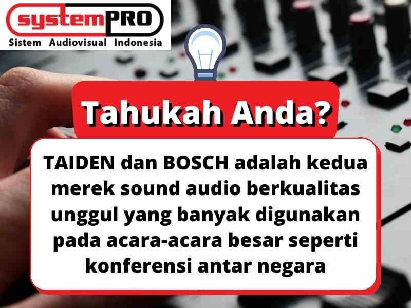 Info Paket Sound System Rapat Wireless Terbaik