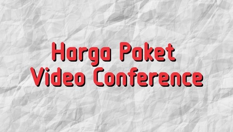 harga paket video conference